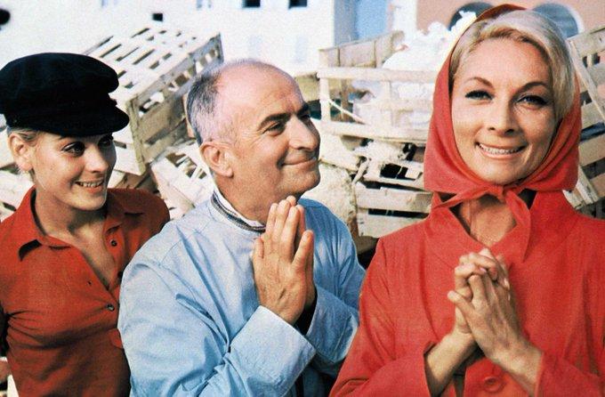 L'actrice Claude Gensac, dix fois épouse de #LouisDeFunès au cinéma, est décédée > https://t.co/AtkUBzNL0Y