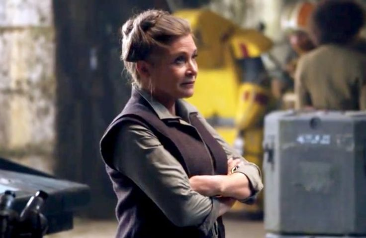 Everyone is sharing pictures of Fisher when she was young, but let me show you the Leia that was the most important to me: General Organa https://t.co/xXFETlkZ8Y