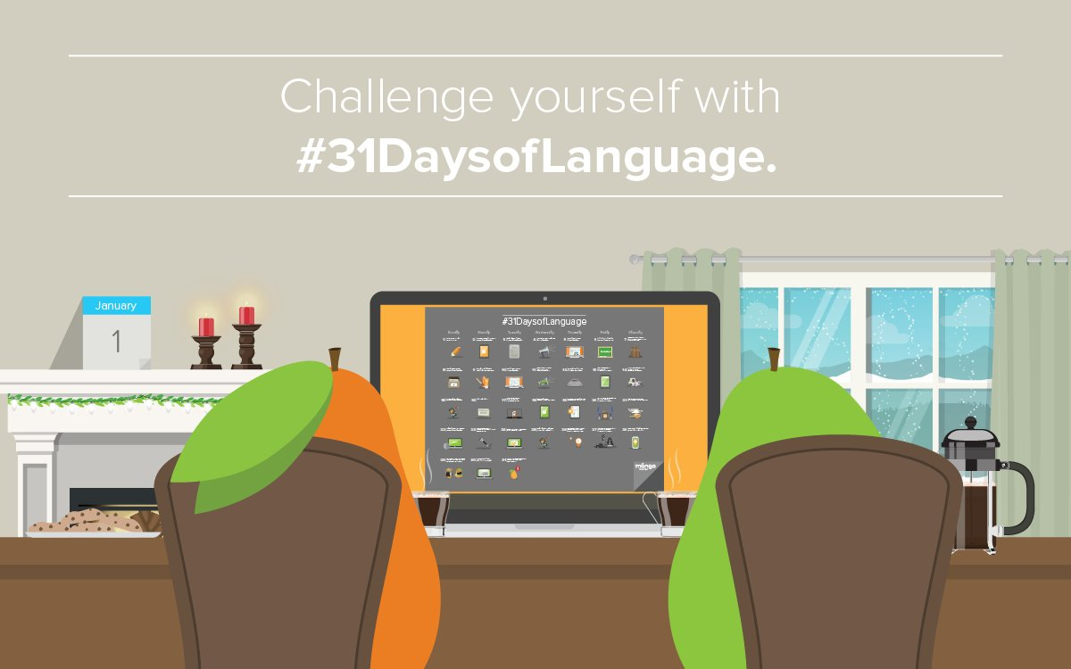 Are you ready for Mango's #31DaysofLanguage? Check out our blog post to learn more: https://t.co/lVh5ihvu5G https://t.co/S2vRcEhMRn