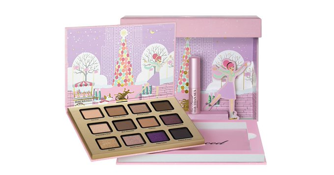 Exclusive! See Swatches of Too Faced's Merry Macaron Palette