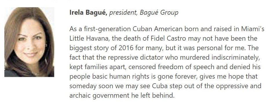 My opinion @SoFlaOpinion #Storyof2016 #Cuba #CastroisDead #HopeforFreedom #SF100 @RosemaryOHara14