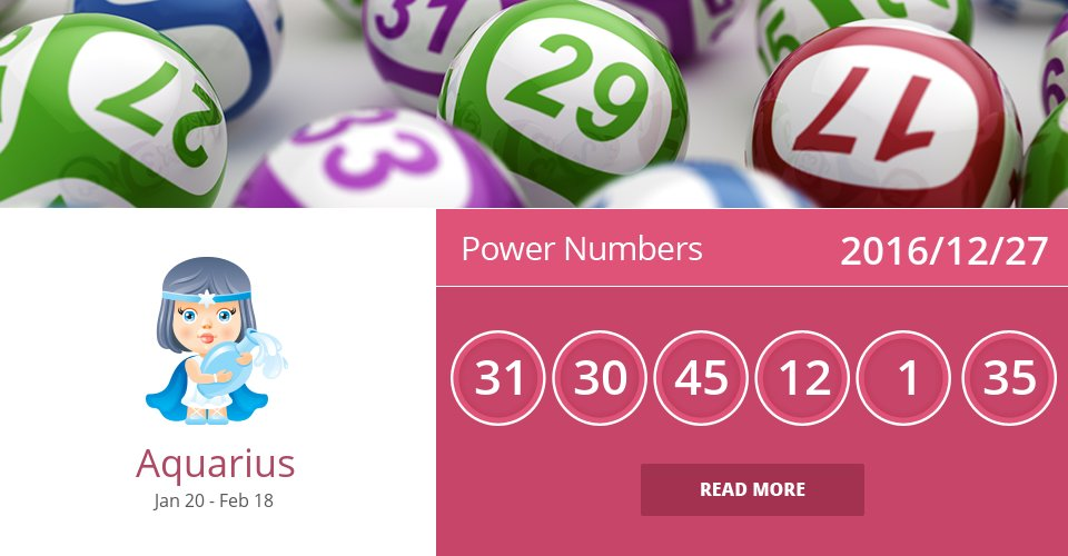 Dec 27, 2016: Power Numbers => See more: https://t.co/mFGmWTNzgG Accurate? Like = Yes #Aquarius #Horoscope https://t.co/ik2hRW0V1C