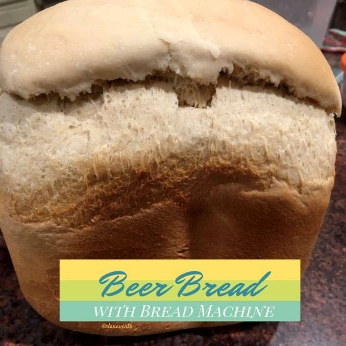 Easy Beer Bread for Bread Machines