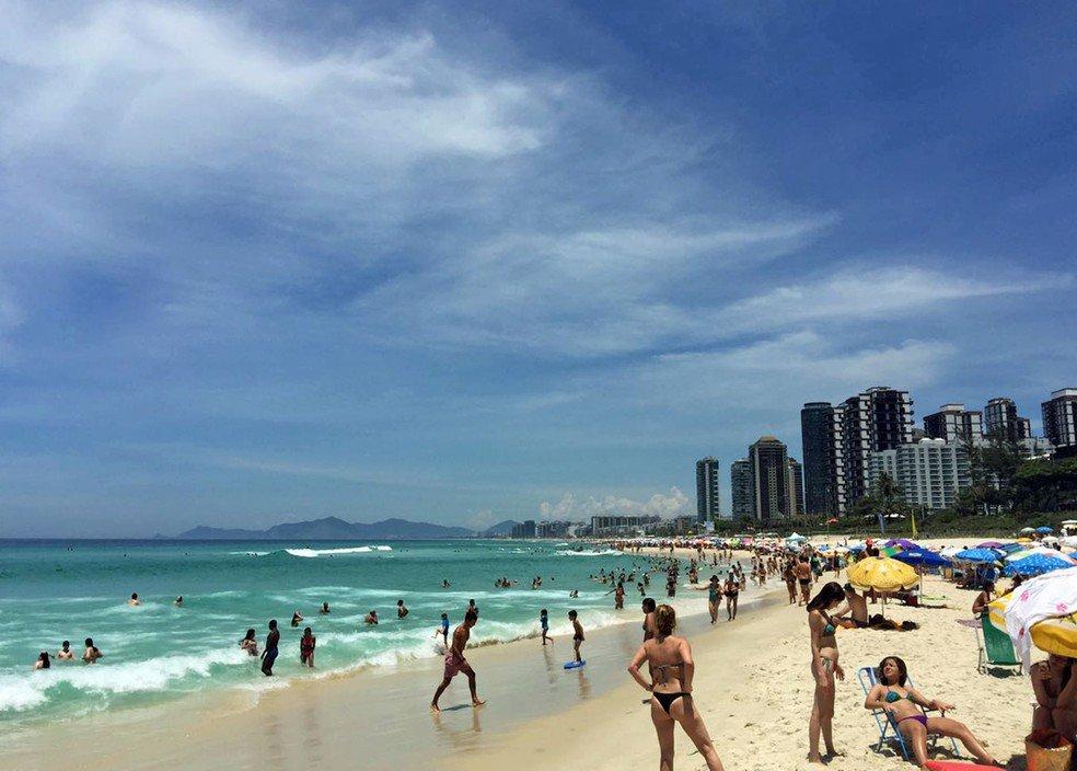 Rio tem dia mais quente do ano, com máxima de 42,3°C e sensação de 47,7°C: https://t.co/3tdYL7wHcd
