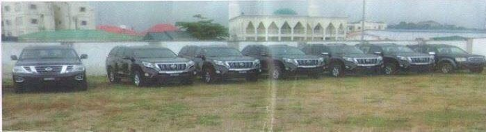 The following are some of the automobiles recovered from former Inspector General of Police Force, Mr. Solomon Arase by the new IGP Abubakar Idris.