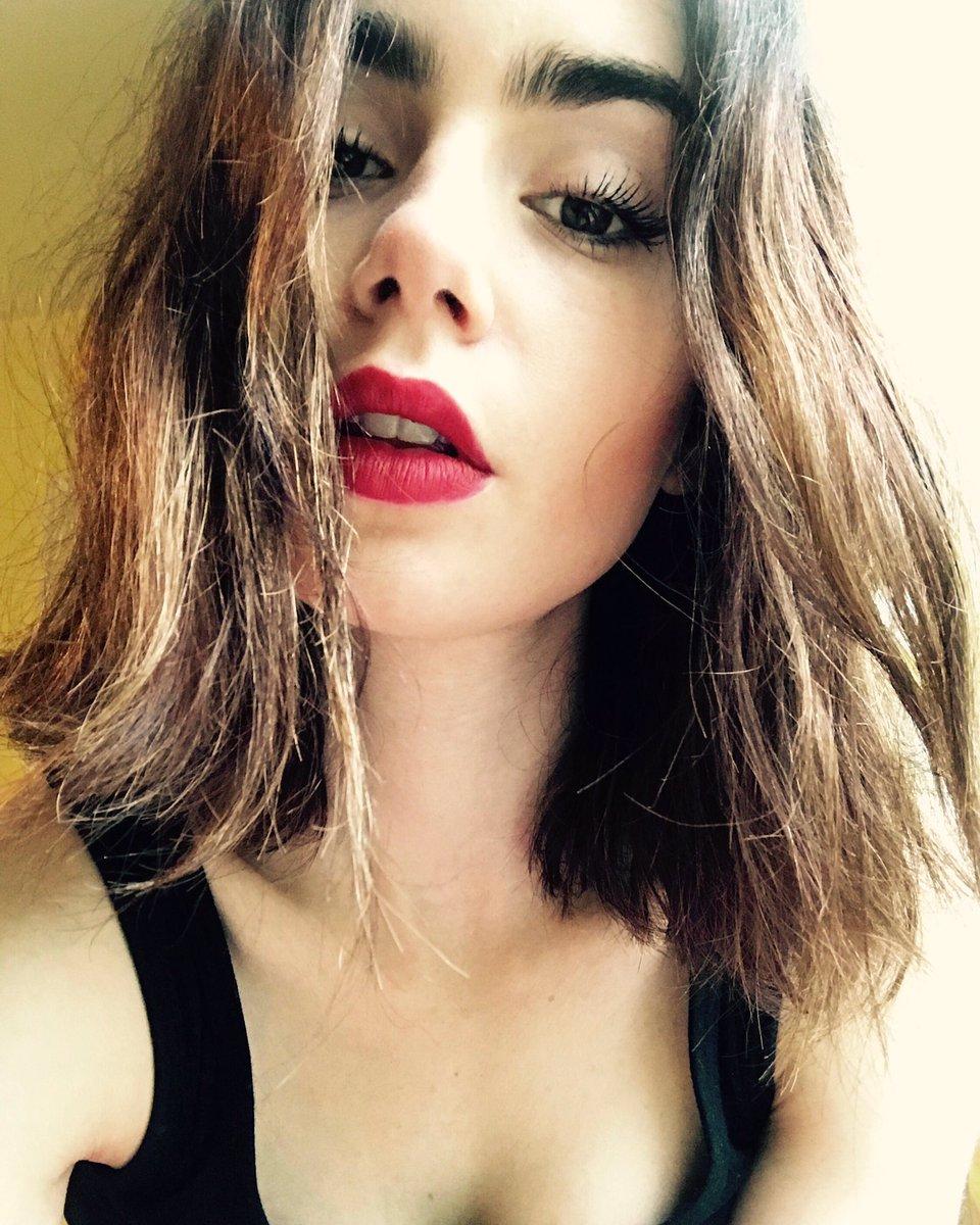 Instagram Lily Collins nude photos 2019