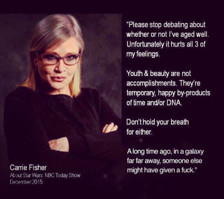 And this is why we love her #RIPCarrie https://t.co/gnxg10tjYA