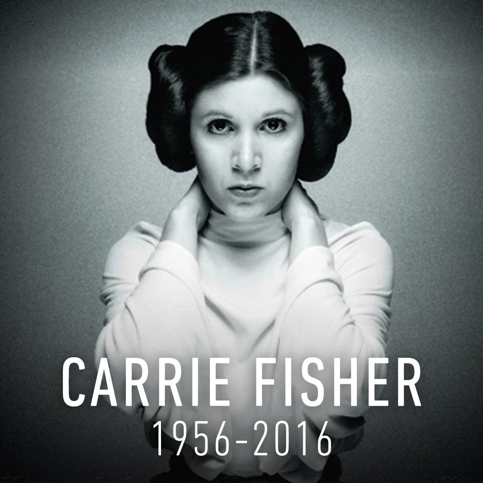 'She was Princess Leia to the world but a special friend to all of us. We will miss her dearly.' -Kathleen Kennedy https://t.co/E96OuqnFQL