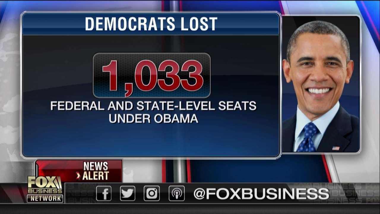 obama lost 1000 seats
