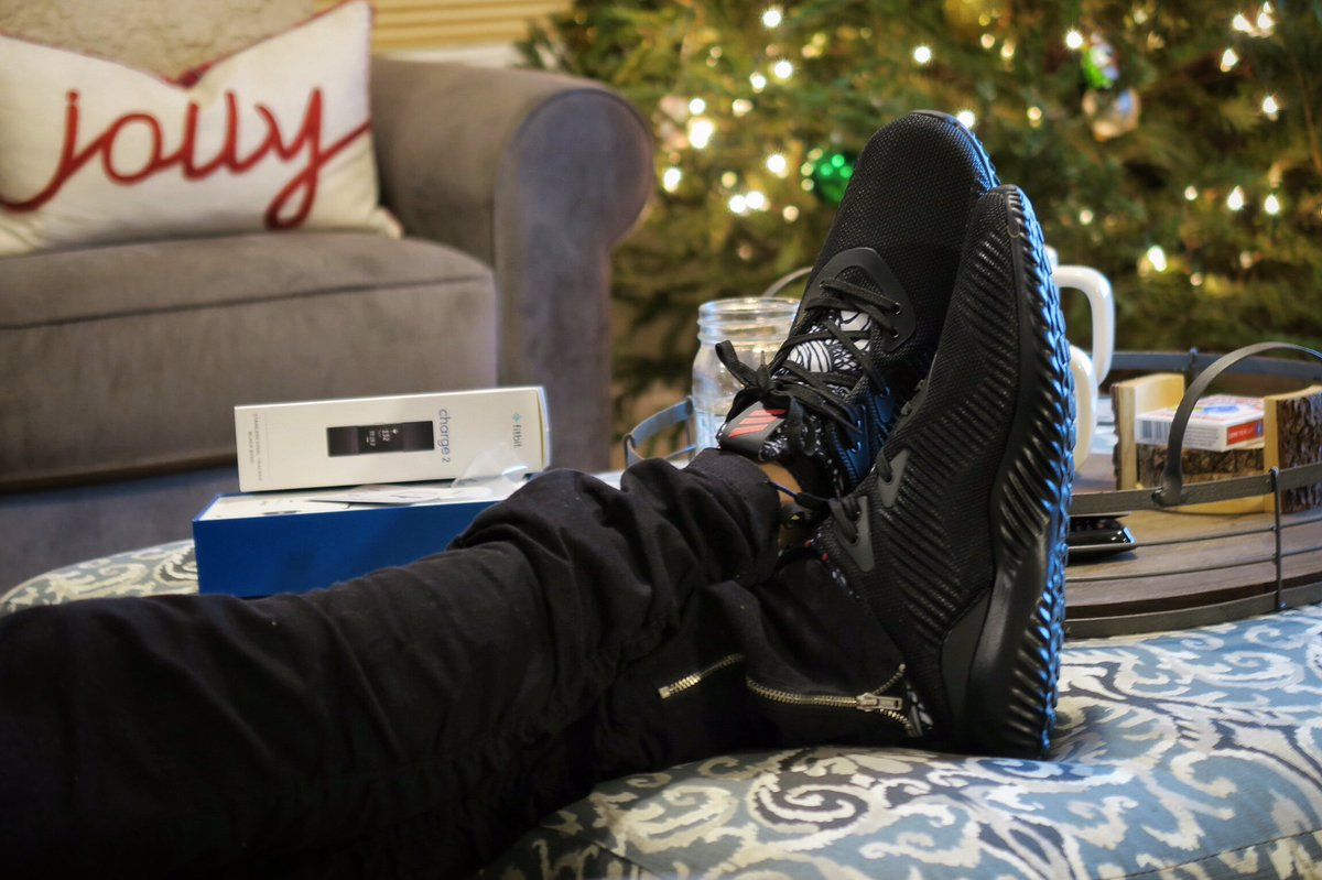 adidas alphabounce on feet