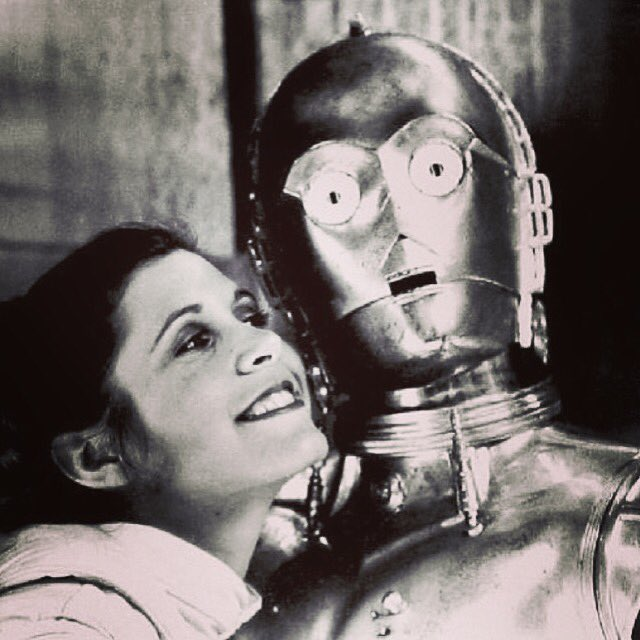 R.I.P #carriefisher