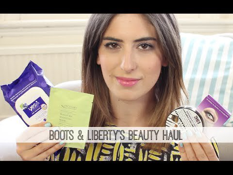 Boots & Liberty's Beauty Haul // Lily Pebbles #LilyPebbles #LoveYa #MakeUp #Beauty