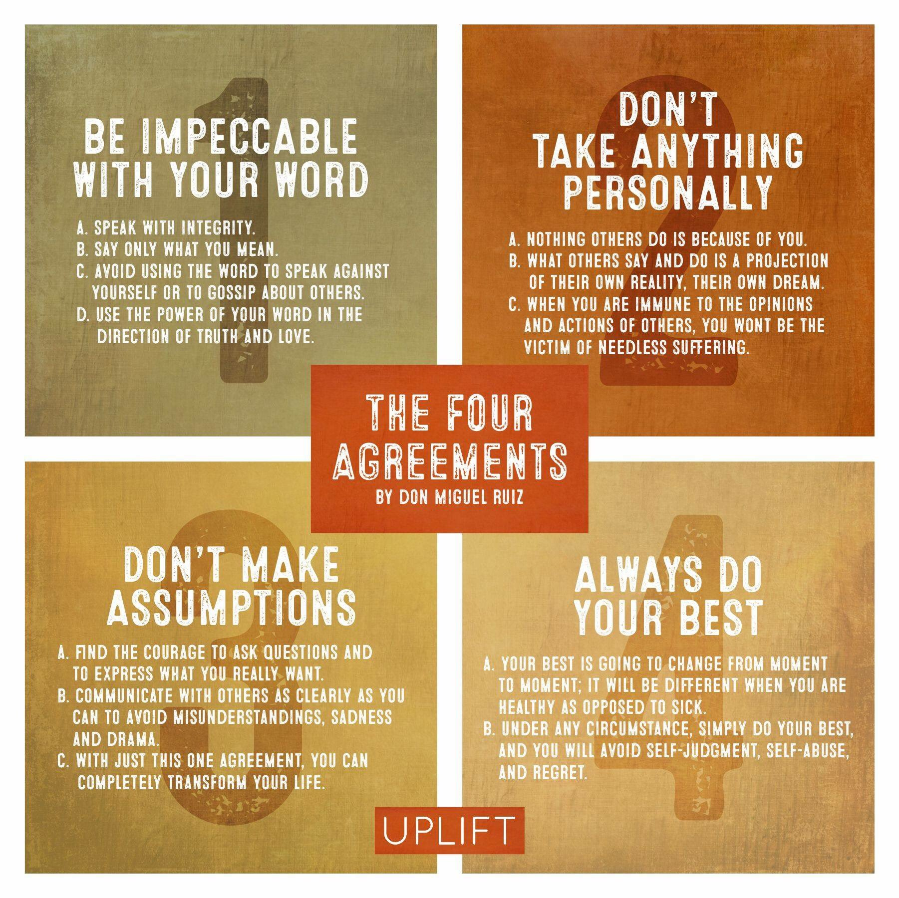 photo regarding The Four Agreements Printable identify Kristin Carrico Lansing upon Twitter: \