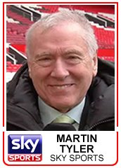 commentator Martin Tyler turns 72 today. A very happy birthday Martin!