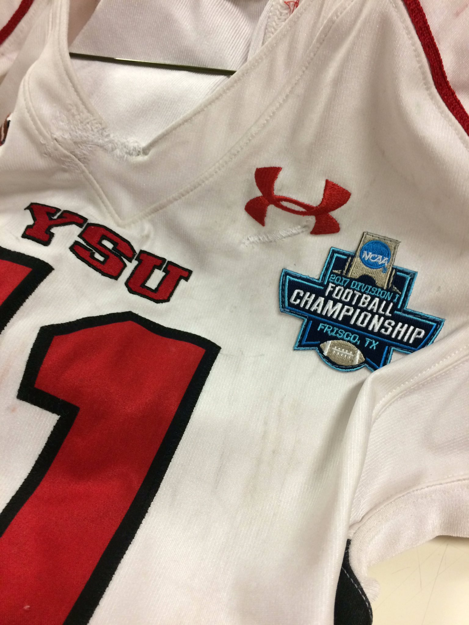 Here's Youngstown State's Patch For The Fcs Championship Game