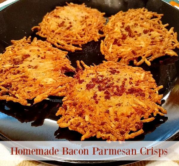Homemade Bacon Parmesan Crisps #Recipe