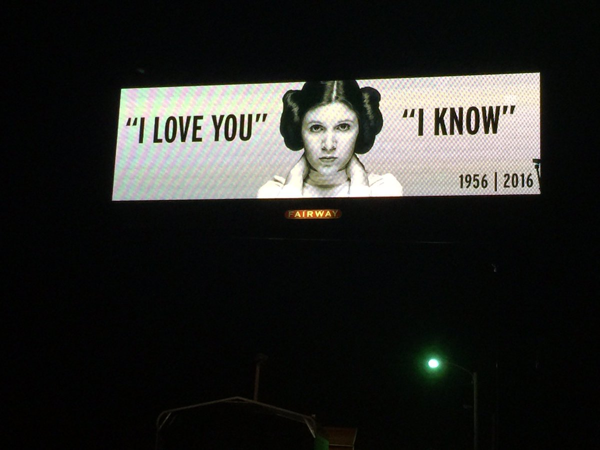 Billboard on route 1 North of Wake Forest #MaytheForcebeWithHer https://t.co/Xoki3LOj7h