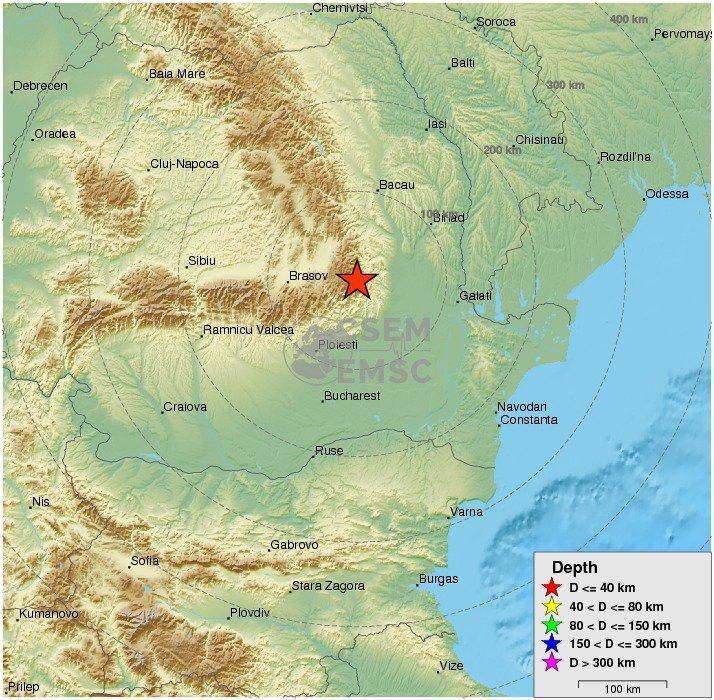 Terremoto Oggi Romania: sisma M5,6 sentito da Bucarest fino a Kiev (Ucraina)