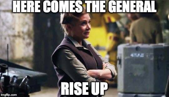We're ready to continue the job. Love you Carrie. #RIPCarrie https://t.co/Ufz2gG14vS