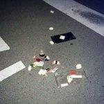 地震のせいでお寿司を落としてしまった…まさに、「時すでにおすし」