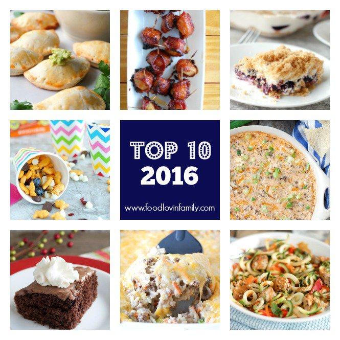 Top 10 Recipes 2016