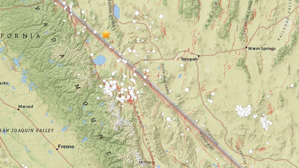 #BREAKING Nevada earthquake felt in Fresno area https://t.co/7uw4DdSsd1 https://t.co/1aUQfkt8mJ