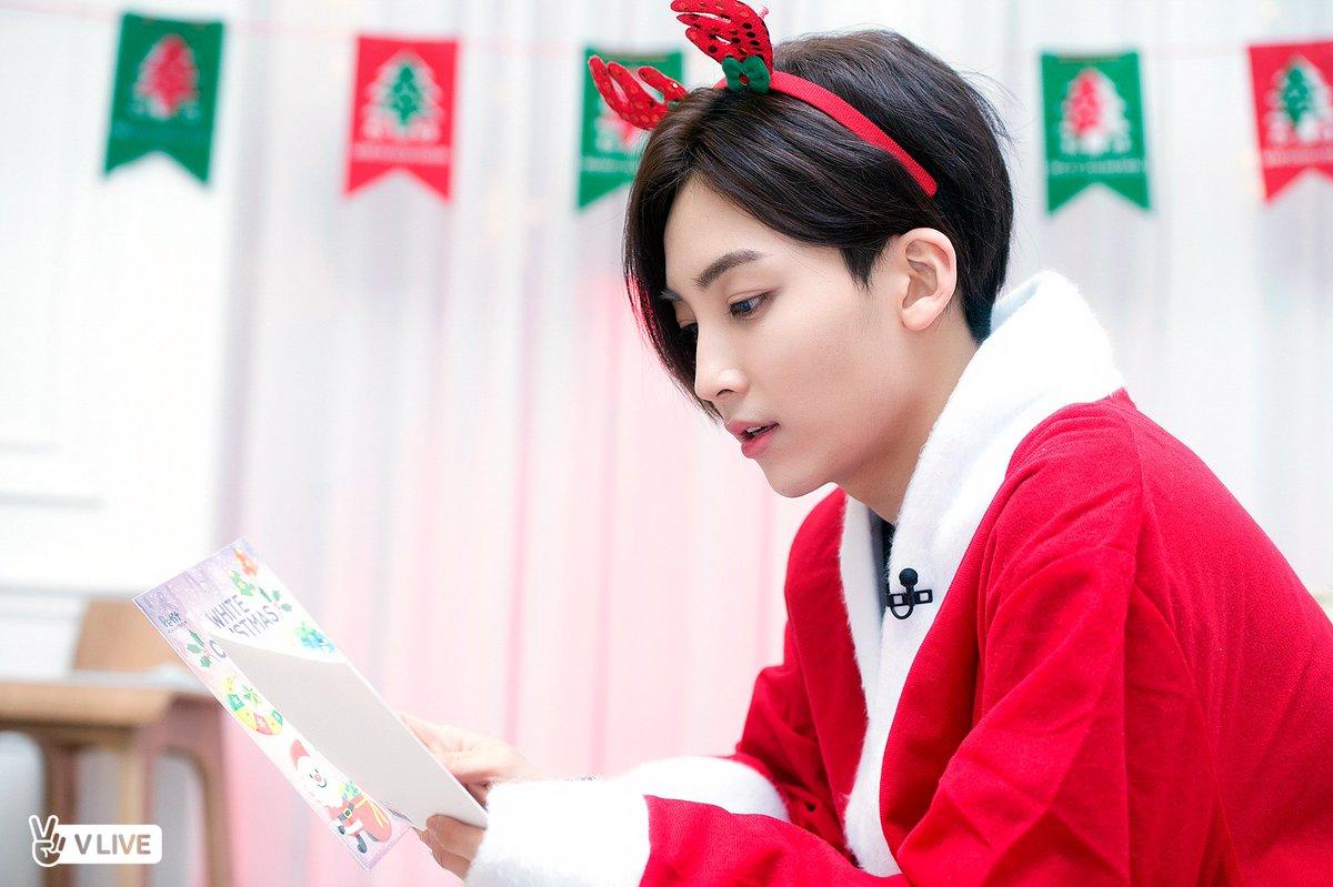 Image result for jeonghan christmas
