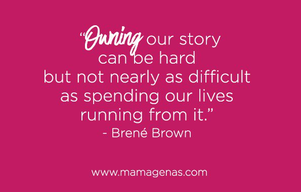 Owning our story can be hard but not nearly as difficult as spending our lives running from it. - Brené Brown https://t.co/O0xTcfN4Vw