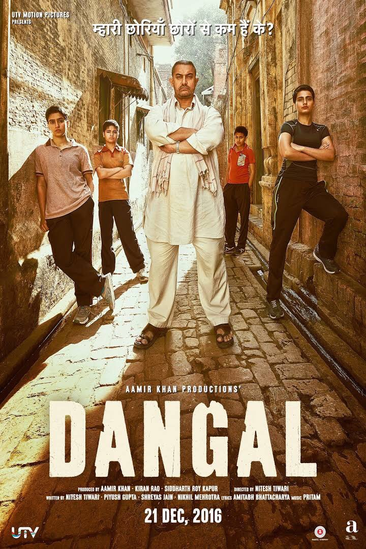 #Dangal A must watch! Well done team #Dangal! Very inspiring movie and incredible work @aamir_khan