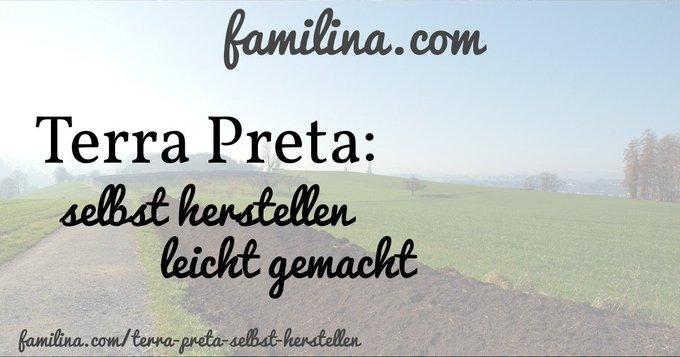 Terra Preta selbst herstellen