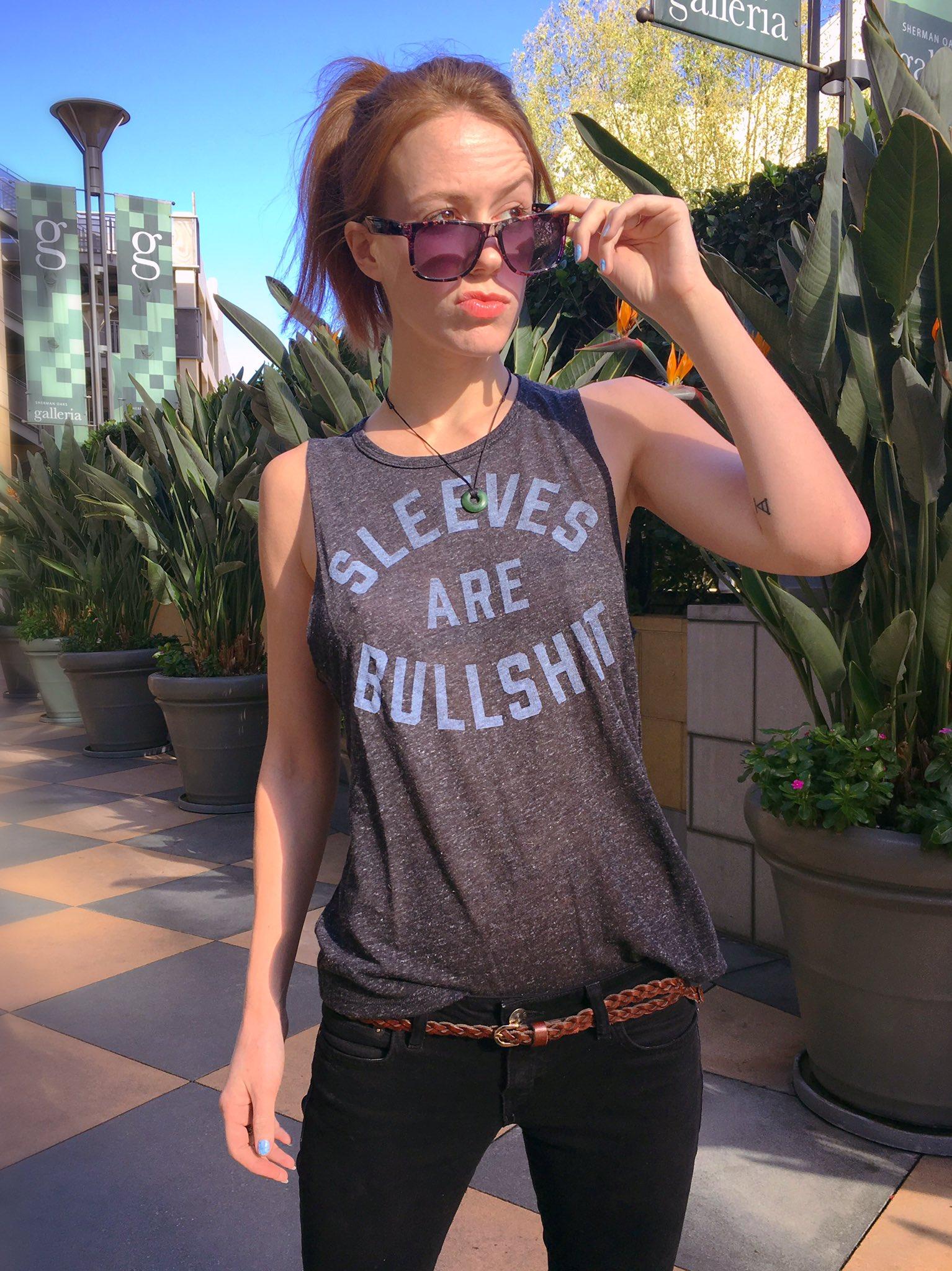 """Marisha Ray on Twitter: """"Rocking my new favorite shirt ..."""