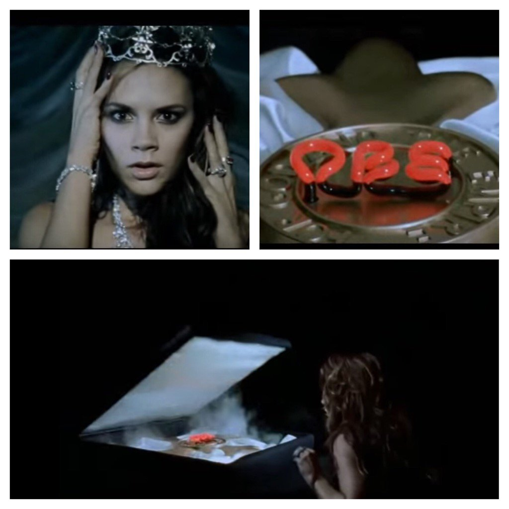Best thing about @victoriabeckham getting an OBE is that her 'Let Your Head Go' video fantasy has finally come true. https://t.co/CdlIvsKoAB
