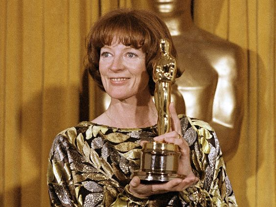 Image result for maggie smith oscar