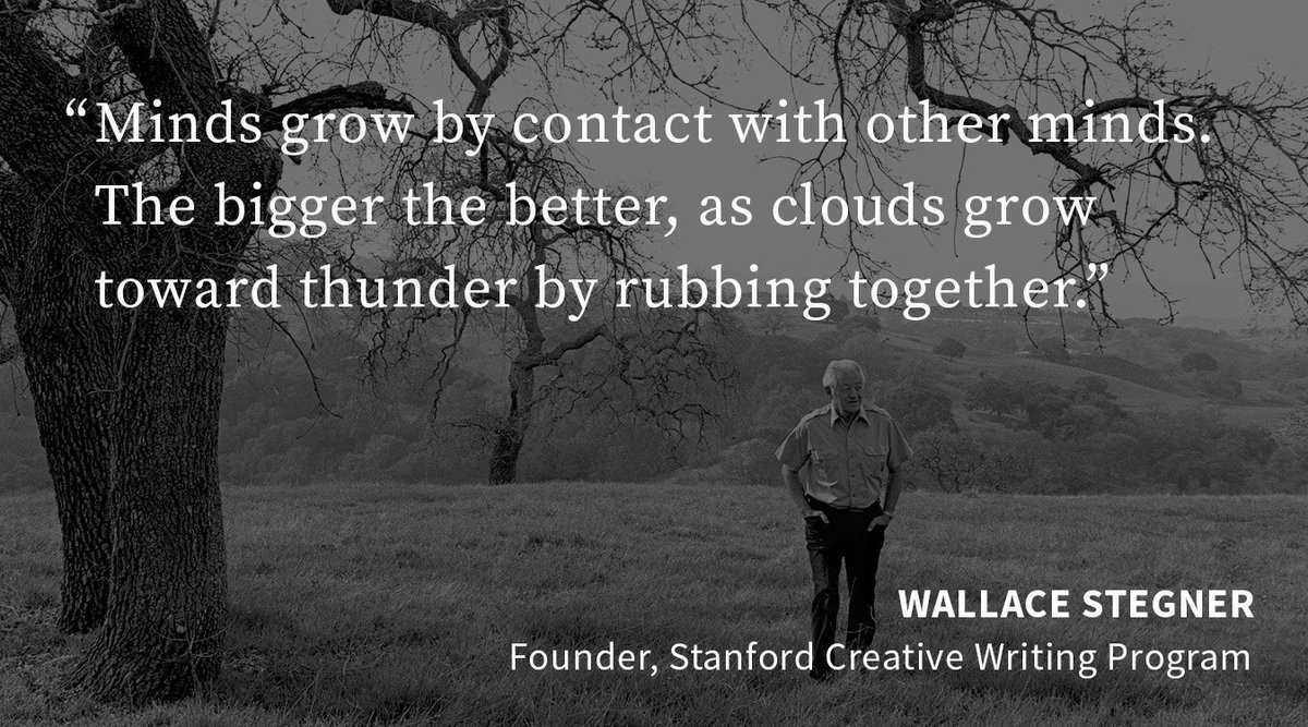 stanford creative writing fellowship The stegner fellowship program is a two-year creative writing fellowship at stanford university the award is named after american wallace stegner, who founded the university's creative writing.