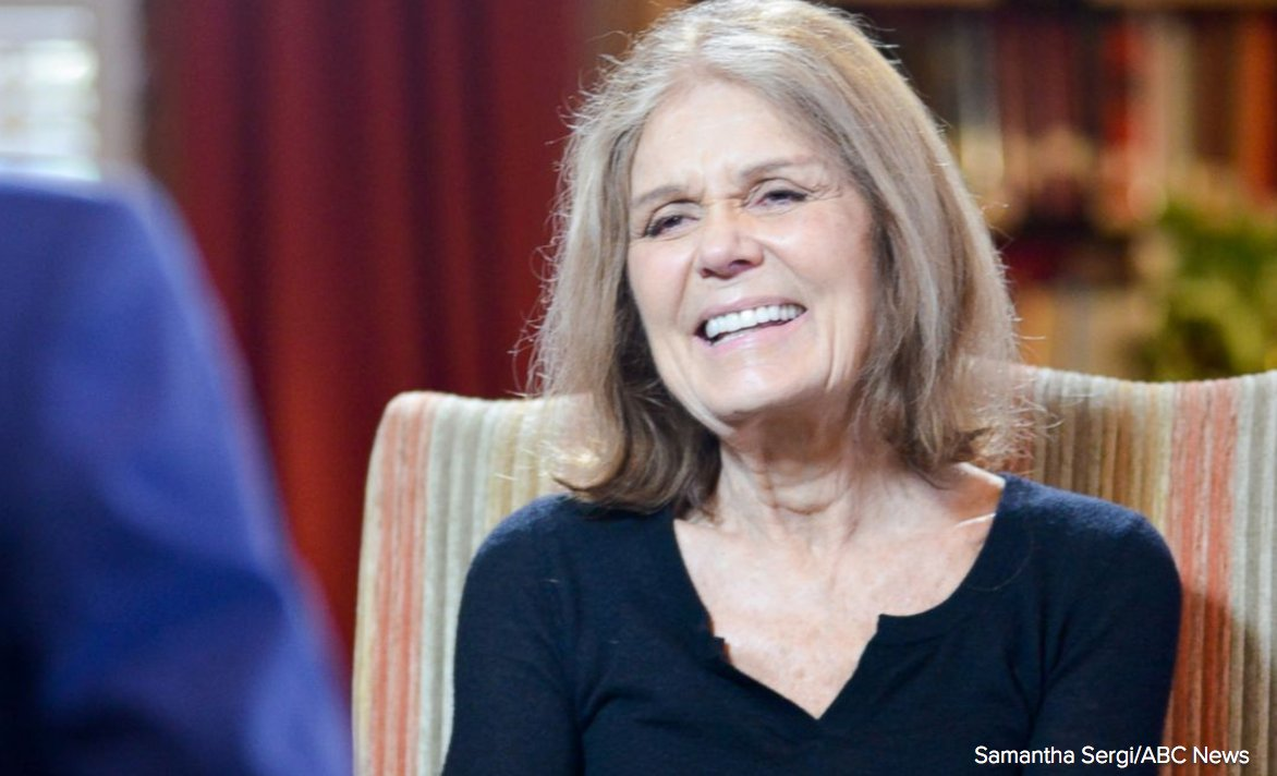 "Feminist icon Gloria Steinem to co-chair ""Women's March on Washington"" day after Pres.-elect Trump's inauguration."
