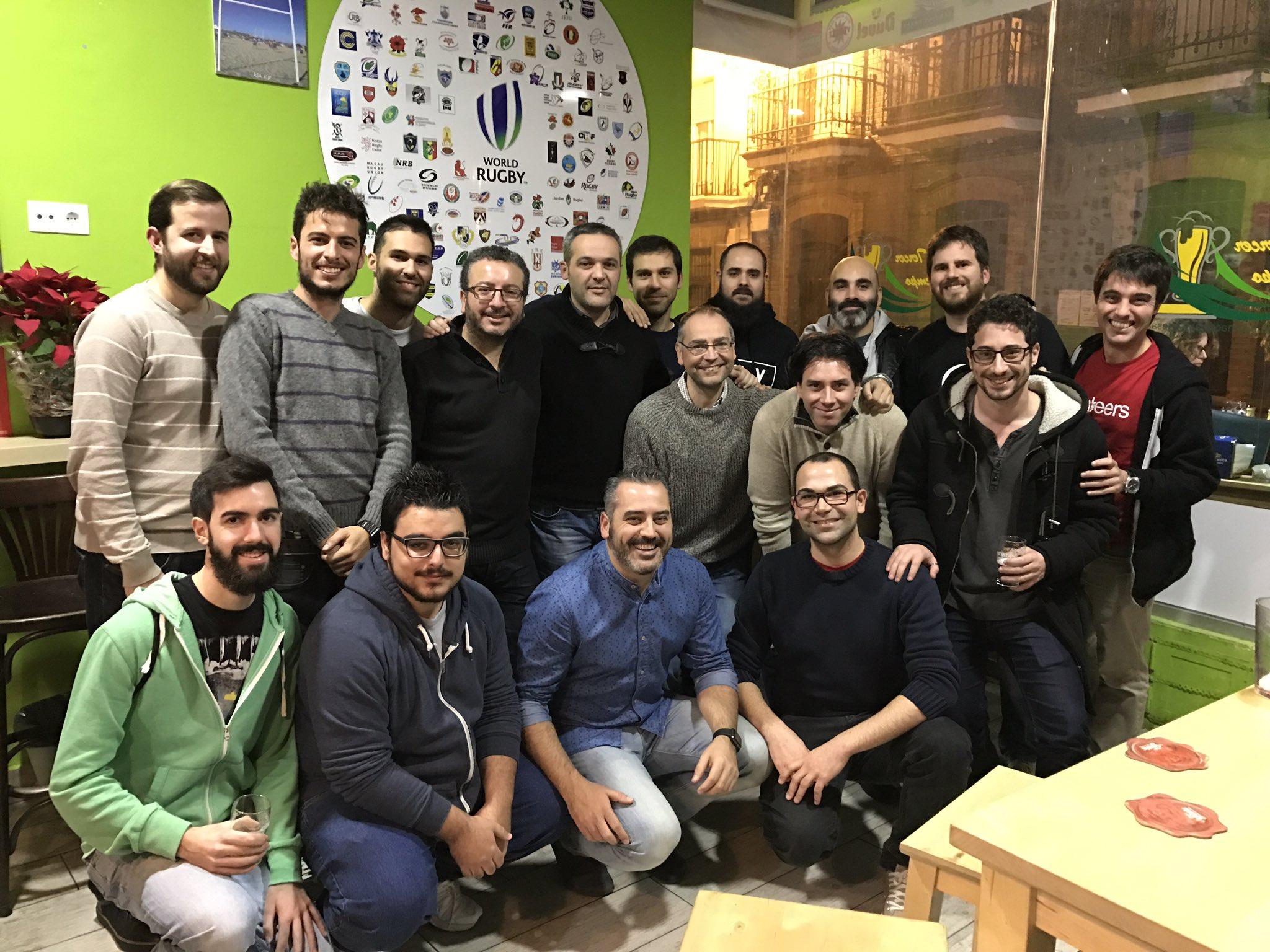 Asistentes al último Betabeers Huelva