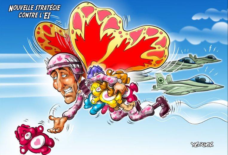 Avec #Trudeau nous n&#39;avons pas à craindre l&#39; #islamisation du Canada!  #polcan #polqc #assnat #tchador #islam #couillard<br>http://pic.twitter.com/tWThh6bBxF