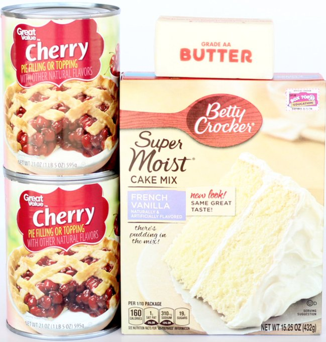 Easy Cherry Dump Cake Recipe! {Just 3 Ingredients!}