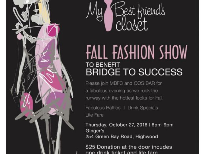 Fashion Show Fundraiser Benefiting Bridge to Success