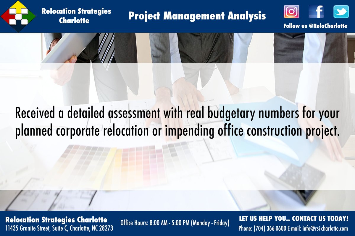 Project Management Analysis . . #Commercial #Office #Moving #Relocation #Strategies #Management #Facilities #Charlotte #NC #2017<br>http://pic.twitter.com/D1MZzA1pV9