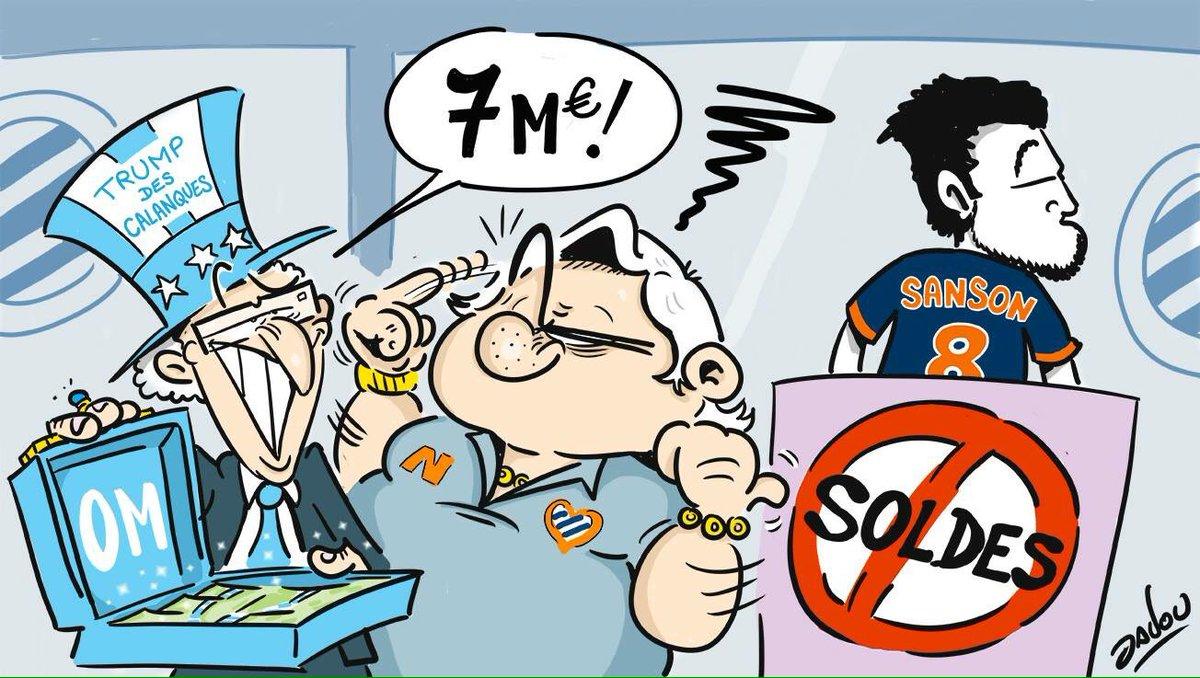 1ère offre de l&#39;#OM au #MHSC pour #Sanson #MercatOM #mercato #soldes @lequipe @EurosportFrance #Ligue1<br>http://pic.twitter.com/wk1z4maNIL