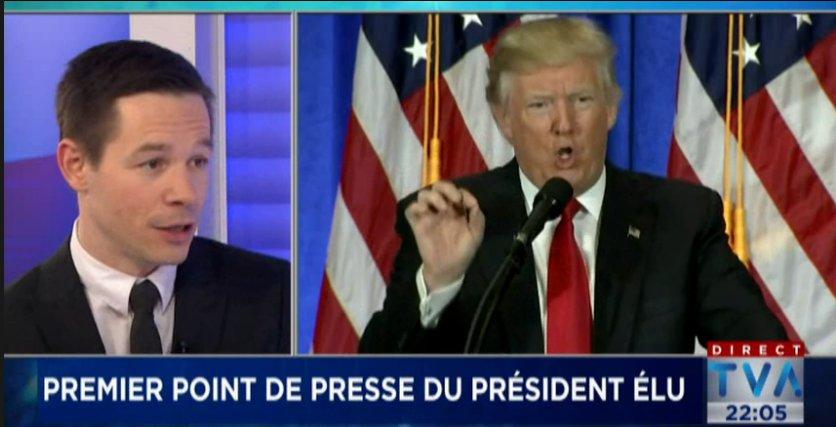 La 1ère #TrumpPressConference analysée par @gagnonfrederick au #TVA22h avec @SThibaultTVA #EtatsUnis  http://www. tvanouvelles.ca/videos/5278953 243001 &nbsp; … <br>http://pic.twitter.com/XVUIp7E6IF