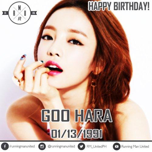 Happy Birthday Goo Hara!