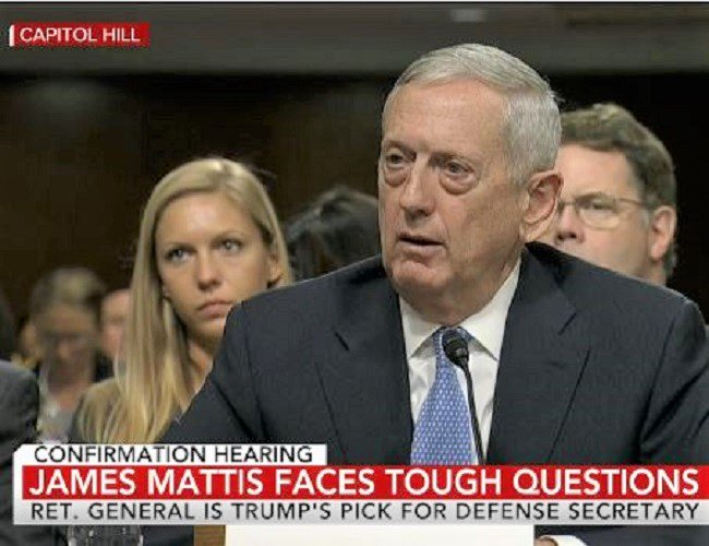 Mattis Needs Waiver to Get Around Law That Keeps Him From Office; Hous...