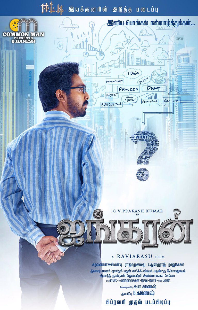 100% Kadhal First Look and Posters