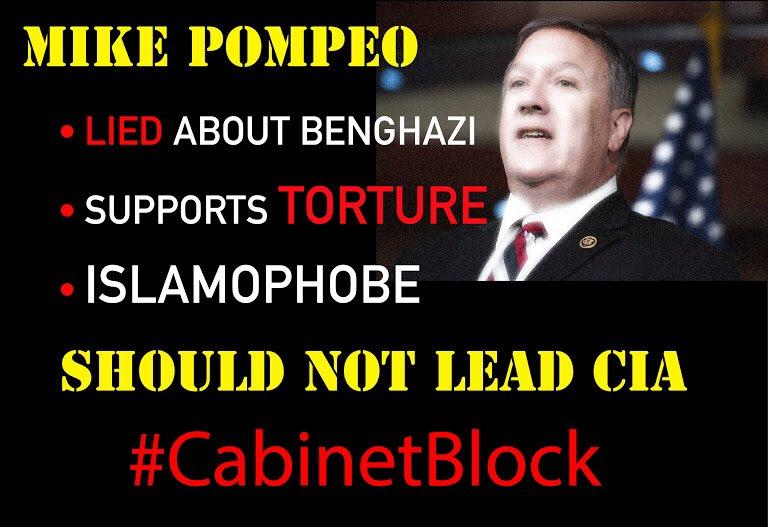 Why &amp; How to oppose Mike #Pompeo for #CIA #SenateHearing  #Cabinet  https:// docs.google.com/document/d/1NT SribNNyM946IEBBuDzfdy053O3KHEAjpTXJ91fx2k/mobilebasic &nbsp; …  #votearama<br>http://pic.twitter.com/rNztGJnGRz