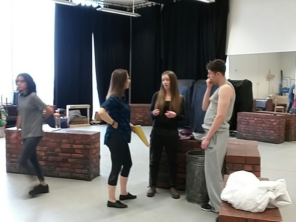 @TCTcompany first blocking session, whoopee!#AnitaAndMe https://t.co/aCI5nhnWjj