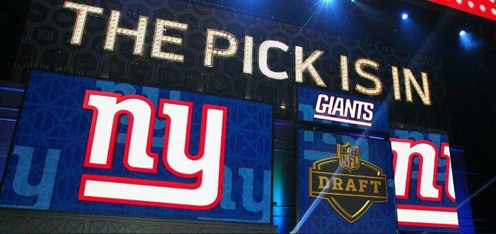 Les Giants auront le 23è choix de la prochaine Draft. #GiantsPride  <br>http://pic.twitter.com/LWJMCZucFg