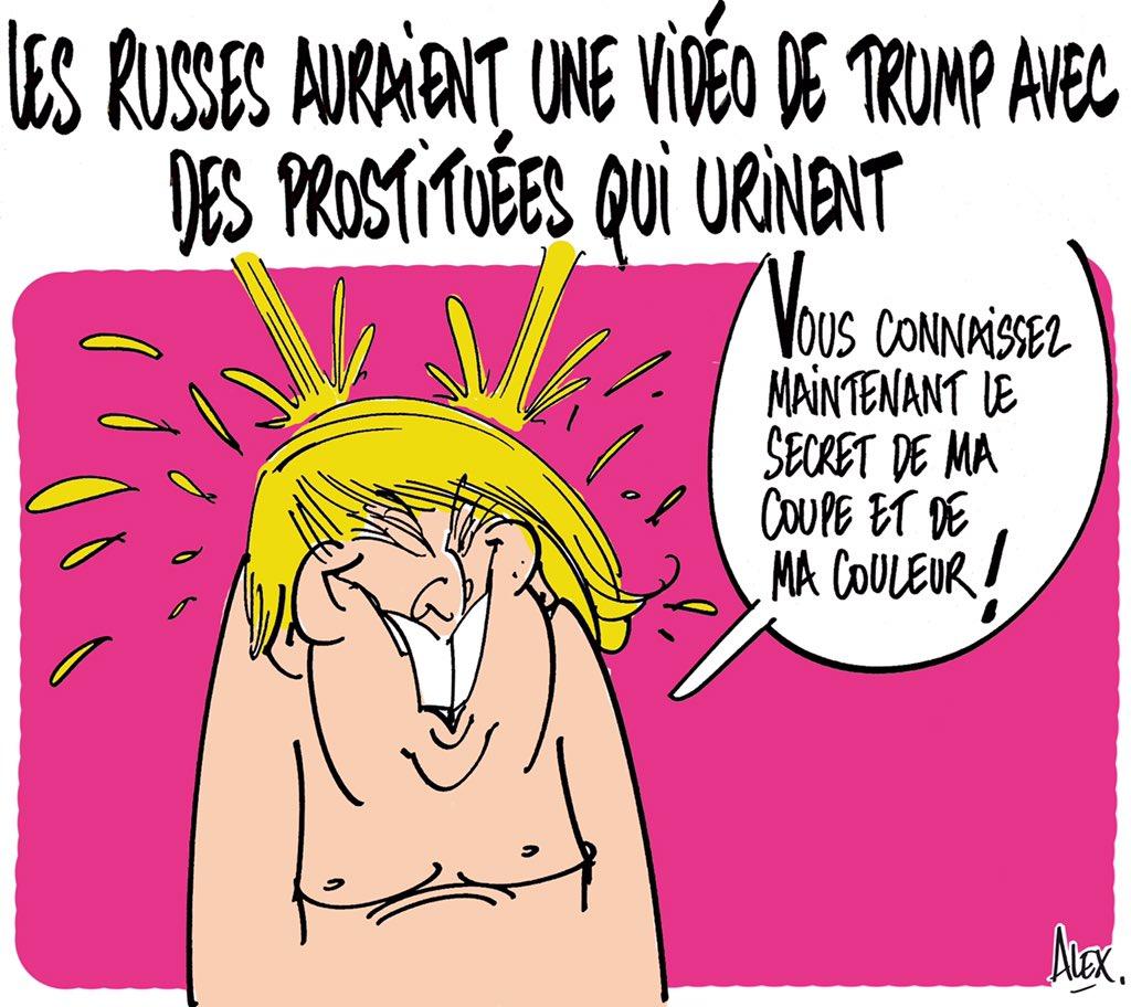 Mon dessin dans le @CourrierPicard du 12.01.2017 : #DonaldTrempe sous la #GoldenShower ! Pisse and love...#Trump<br>http://pic.twitter.com/SW2ZfPkTpw