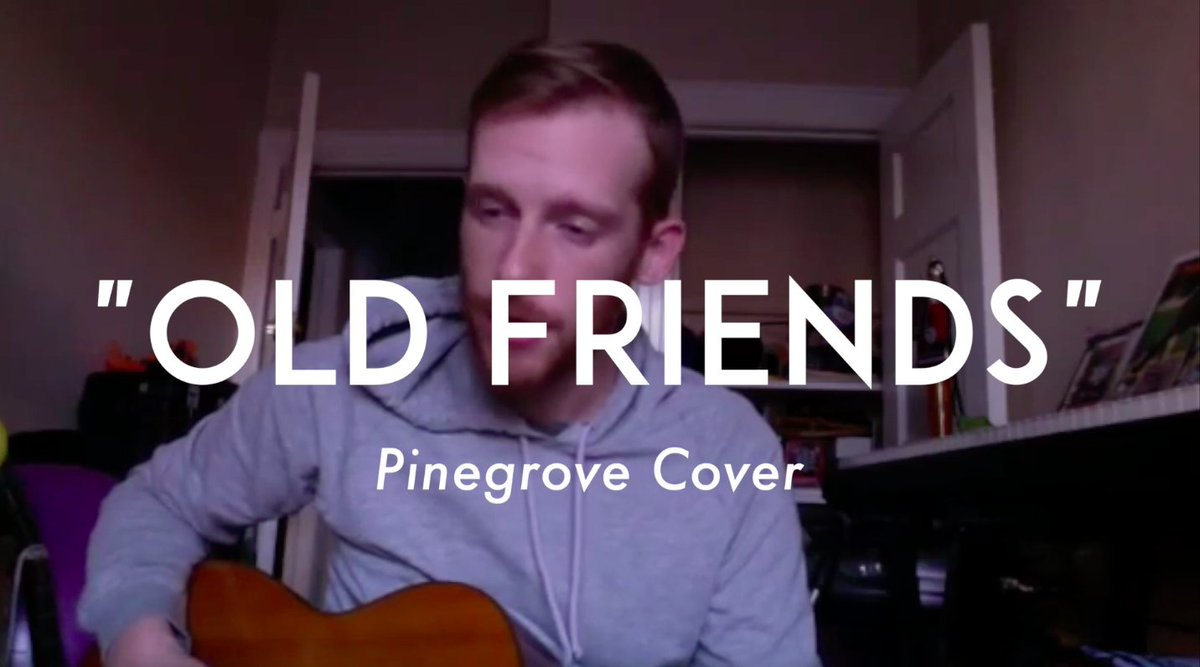 """Kevin Devine Day - #01 """"Old Friends"""" - (Pinegrove Cover) https://t.co/0HT0MsprHO https://t.co/6csLIHHSHp"""